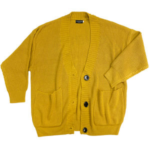 filthy® real ni**a studio cardi (mustard)