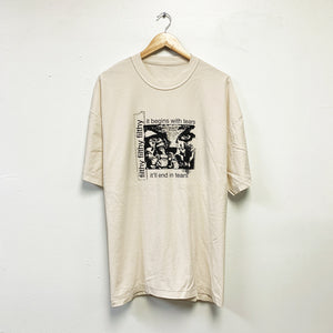 filthy tear up tee (off-white color)