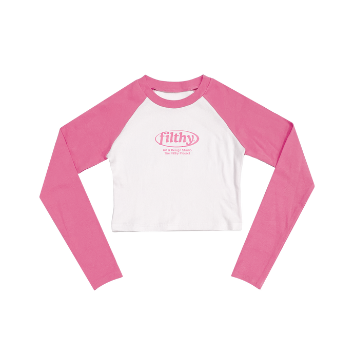 filthy 90s girl raglan (limited)
