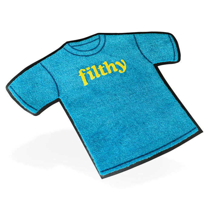 filthy® t-shirt rug (large size)