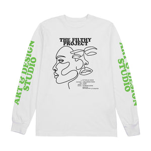 filthy line art long sleeve