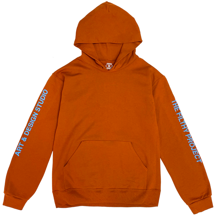 filthy studio pullover hoodie (texas orange)