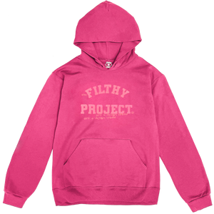 filthy block studio pullover (pink on pink)