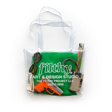 filthy® studio PVC tote bag