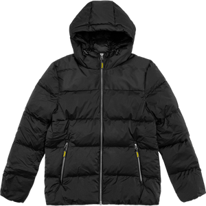 filthy lightweight puffer jacket (black)