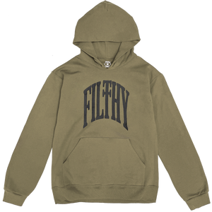 filthy old arch pullover hoodie (safari)