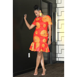 Orange You Looking Good Dress - Shop Basic Chic