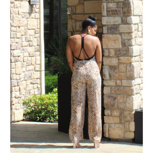 Animal Vibes Jumpsuit - Shop Basic Chic