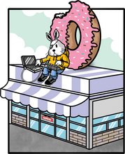 Load image into Gallery viewer, Donut Shop Hoodie (grey)