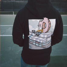 Load image into Gallery viewer, Donut Shop Hoodie (black)