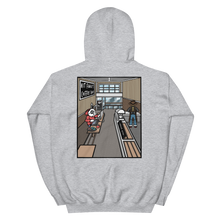 Load image into Gallery viewer, Coffee Shop Hoodie (grey)