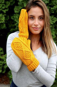 42 Knit Mitts