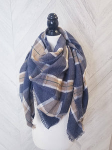 Oaklynn Scarf-Dusty Night