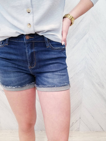 Curb Appeal judy Blue Shorts
