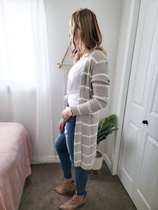 Anthro Knit Cardigan- Misty Stone