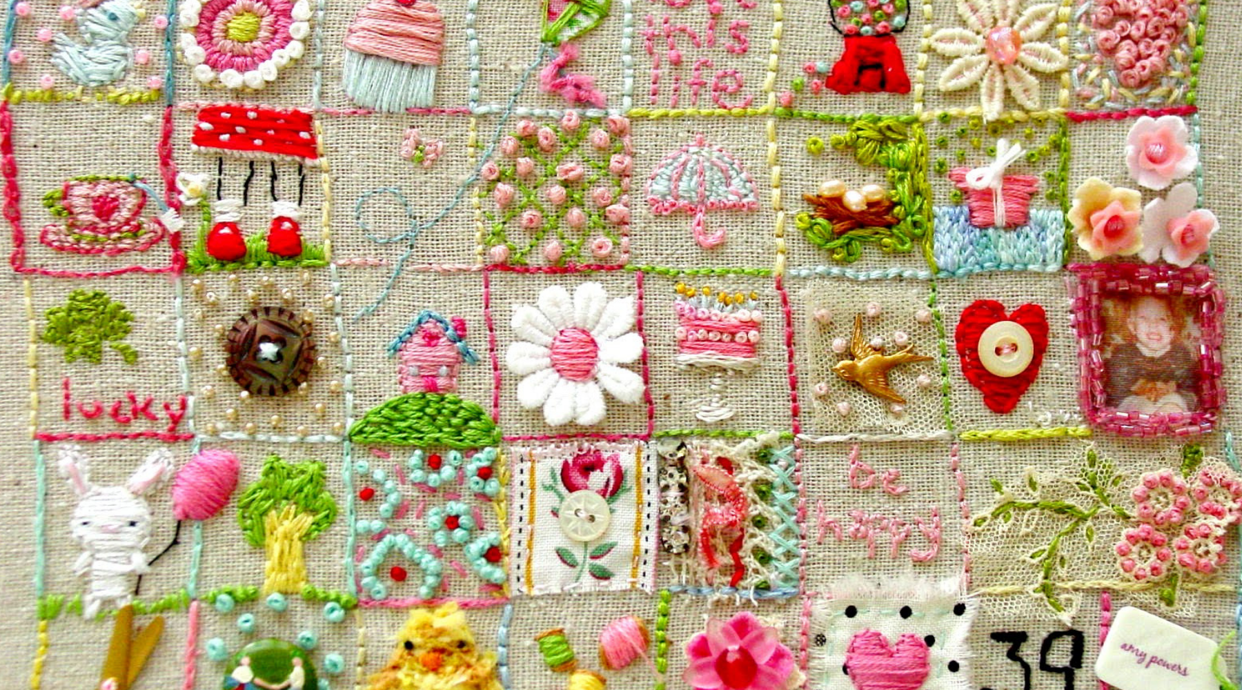 A COMPLETE List of Embroidery Blogs and Sites For Guest Posting wallpaper