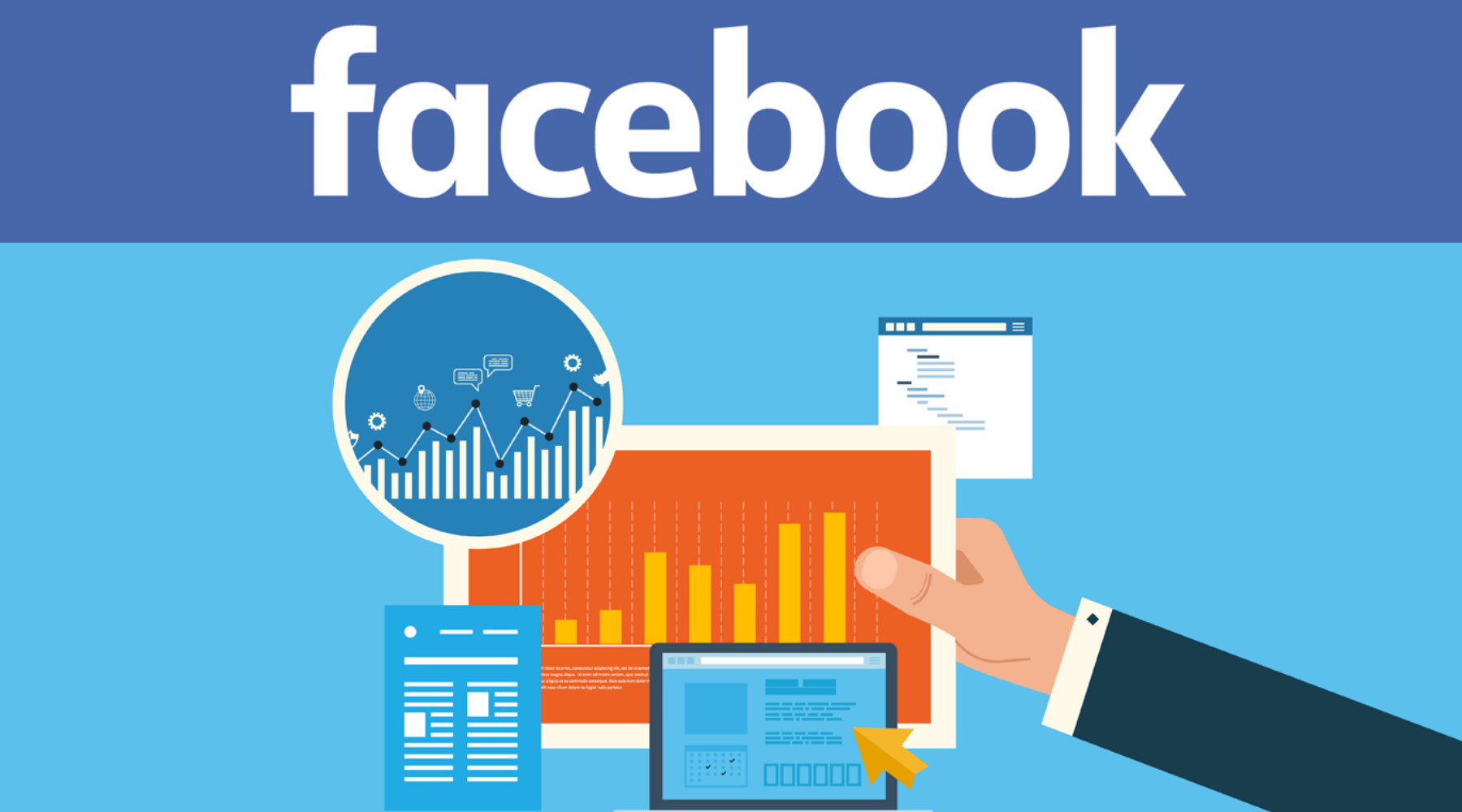 A COMPLETE List of Facebook Marketing blogs and Sites that Allow Guest Blogging wallpaper