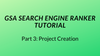 COMPLETE GSA Search Engine Ranker Tutorial Project Creation part 3