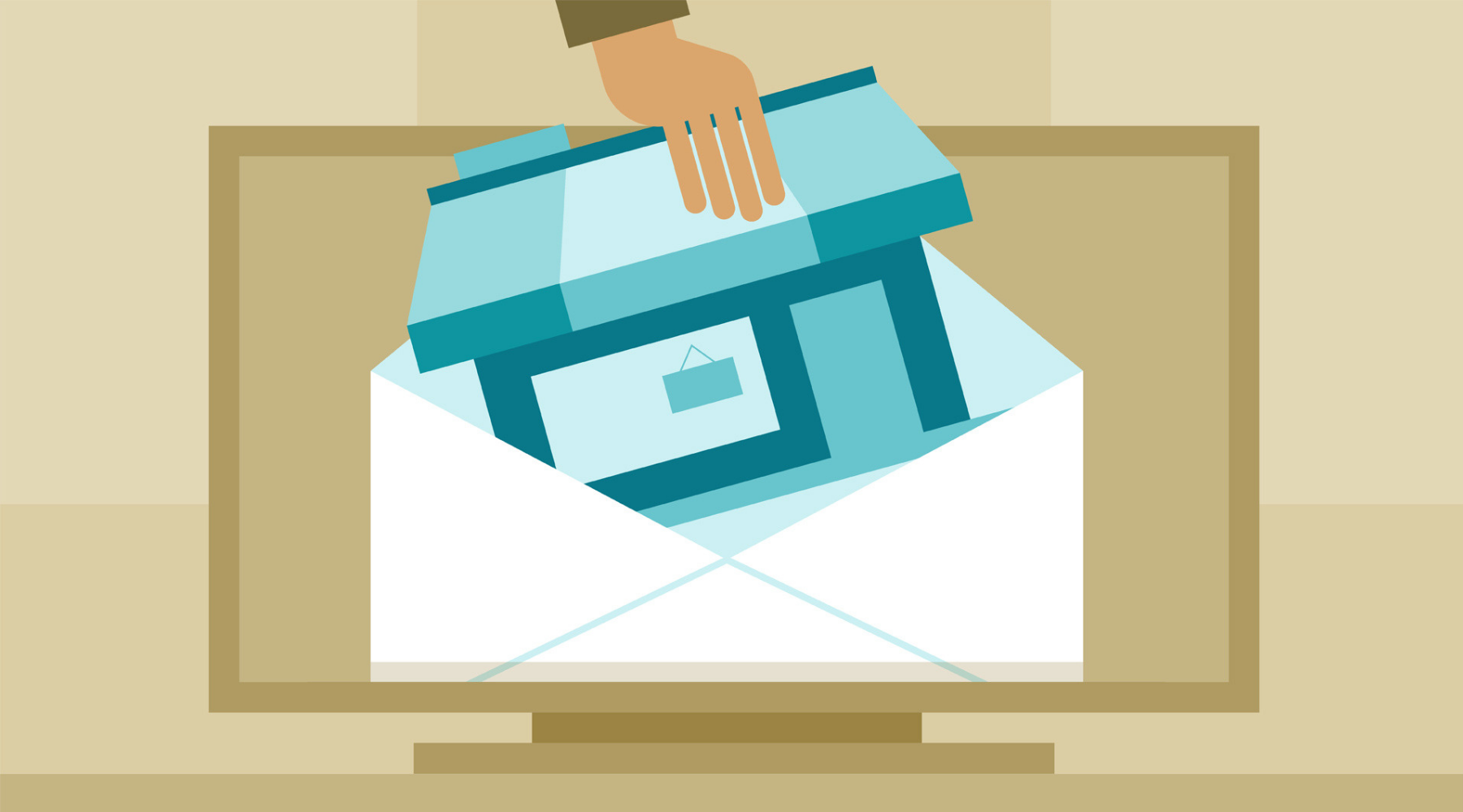 How do I choose between email and direct mail marketing