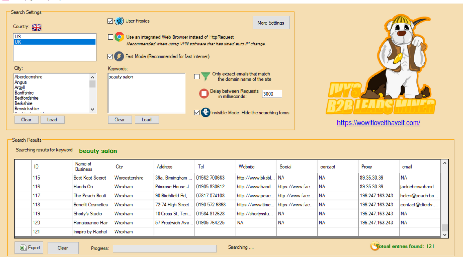 USA Yellow Pages Extractor: Scrape and Extract Data from