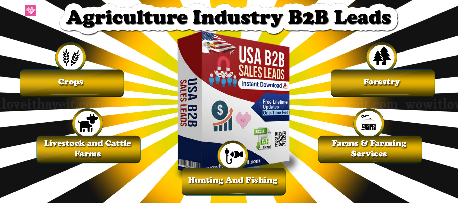 Hunting and Fishing Industry Emails and Mailing Lists