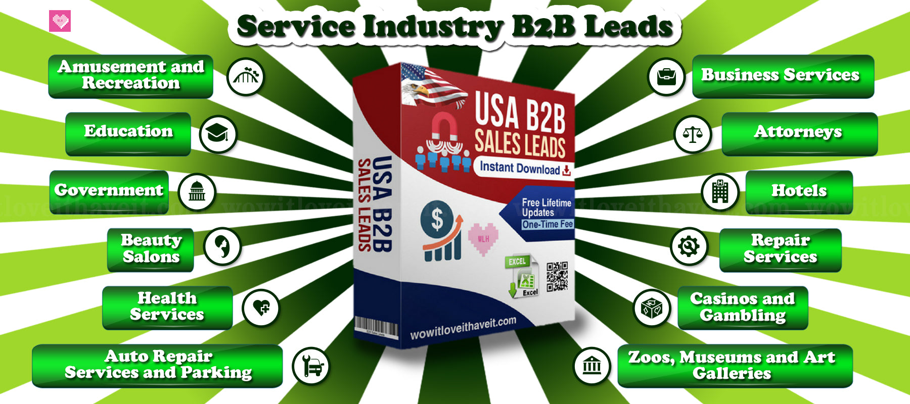 Business Service Industry Mailing Lists and Email Lists
