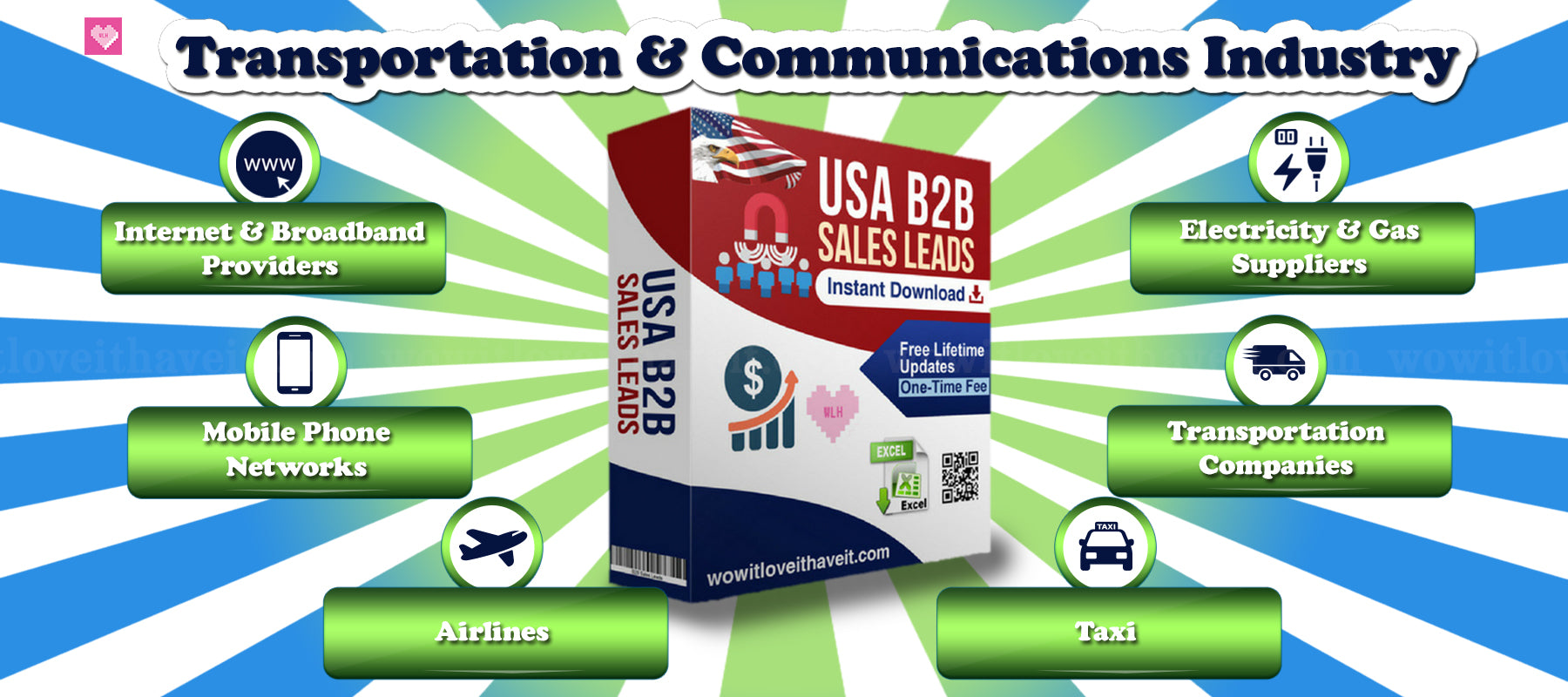 Air Transportation Industry Email Lists and Aviation Industry Mailing Lists