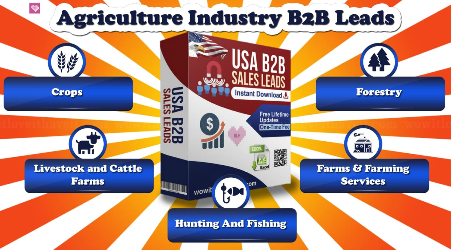 Agriculture Industry E-Mail Lists and Mailing Lists