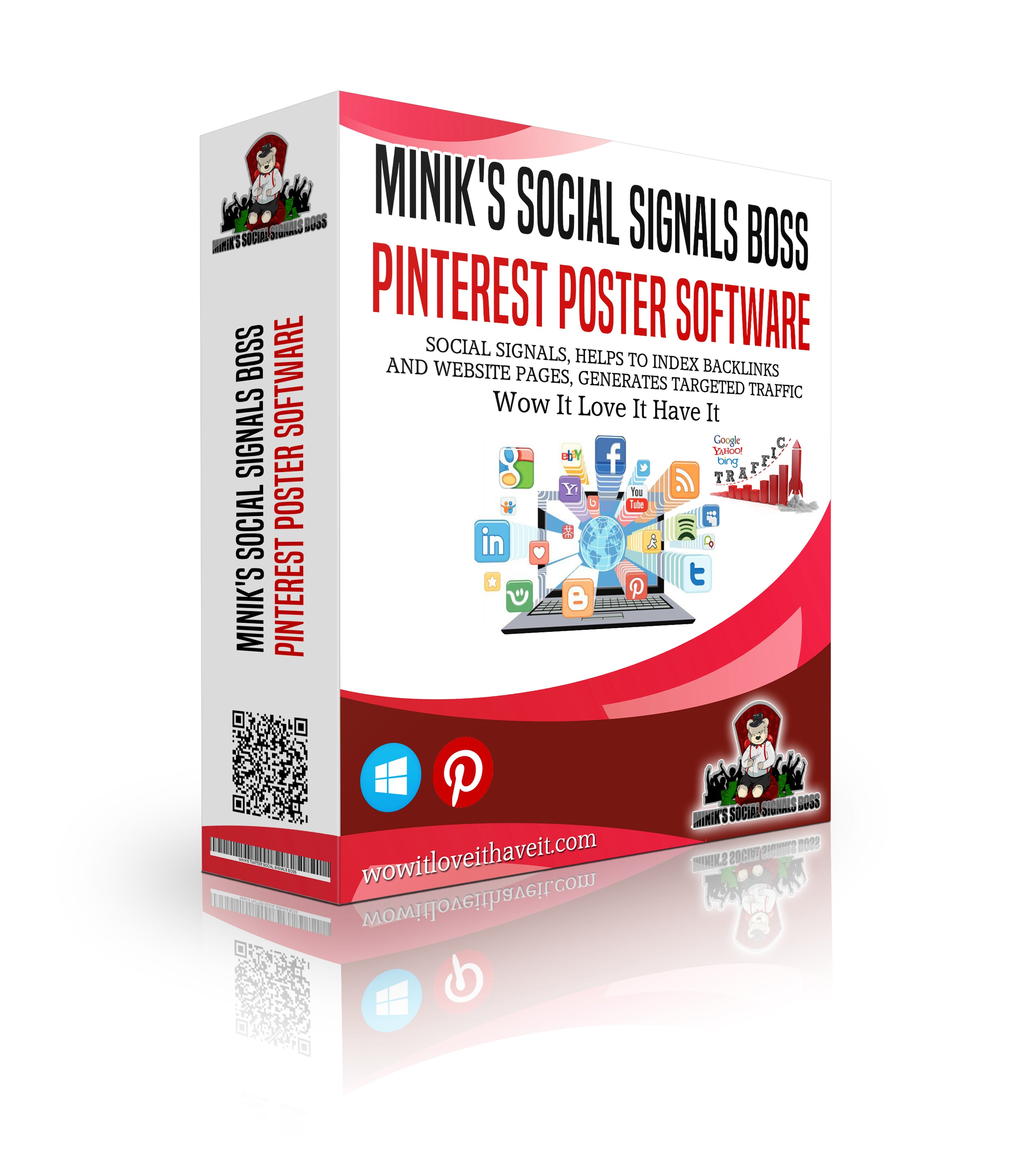 Boost Your Website Traffic with Minik's Social Signals Boss Pinterest