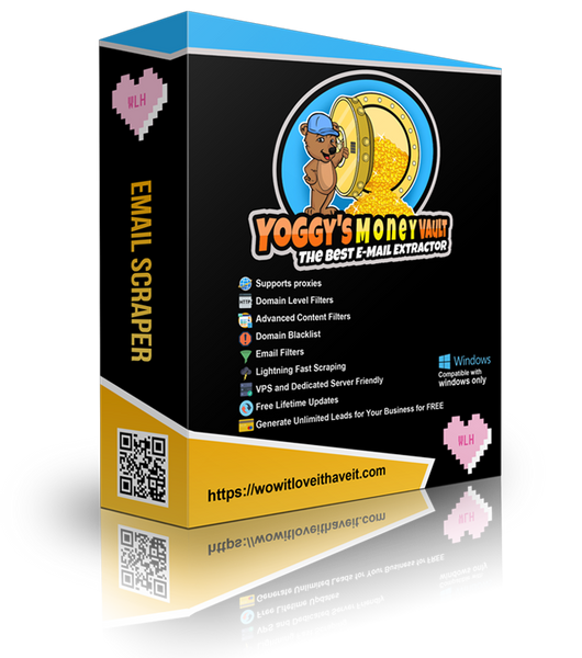 Email Extraktor- und Sammel-Software - Yoggy's Money Vault