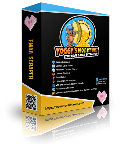 Introduction to Yoggys Money Vault Email Extractor and Search Engine Scraper Software