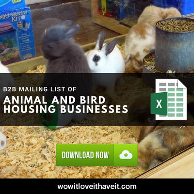 Animal And Bird Housing Business E-Mails And Mailing List For B2B Marketing Usa - Wowitloveithaveit