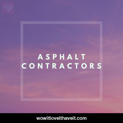 Asphalt Contractors Businesses USA B2B Database with Emails - WowitLoveitHaveit