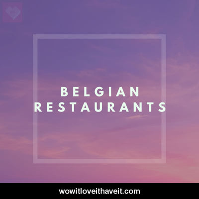 Belgian Restaurants Businesses USA B2B Marketing List - WowitLoveitHaveit