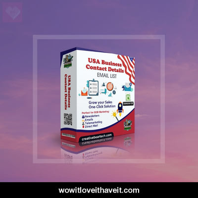 Building Businesses USA B2B Mailing List - WowitLoveitHaveit