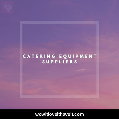 Catering Equipment Suppliers Businesses USA B2B Mailing List - WowitLoveitHaveit