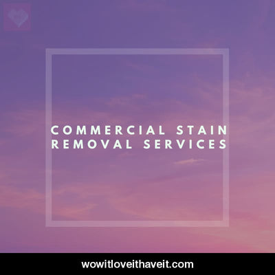 Commercial Stain Removal Services Businesses USA B2B Data - WowitLoveitHaveit