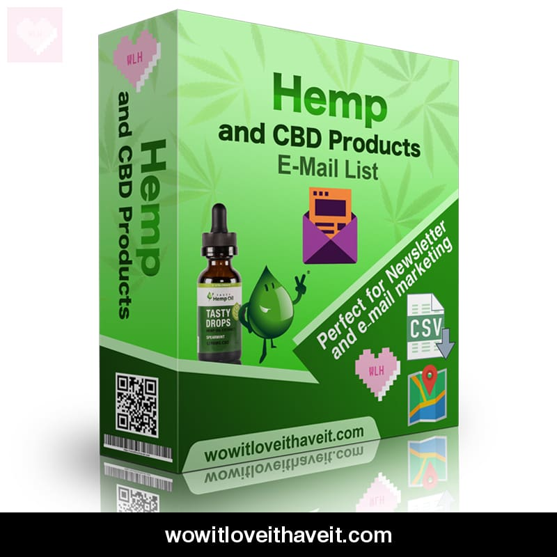 Global Hemp and CBD Company Database with Contact Details - WowitLoveitHaveit