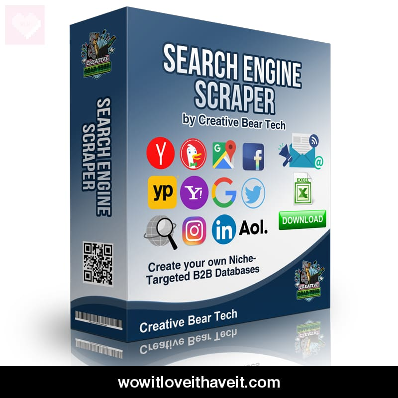 Search Engine Scraper and Email Extractor by Creative Bear Tech - WowitLoveitHaveit