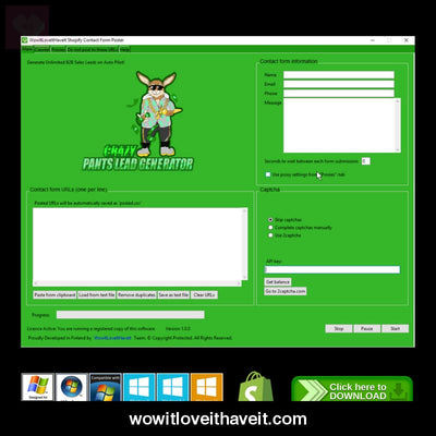 Shopify Contact Form Submitter Software - Wowitloveithaveit