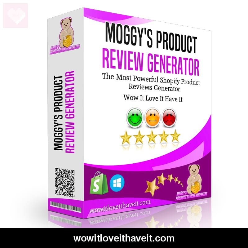 Shopify Product Review Generator Software - £150 00