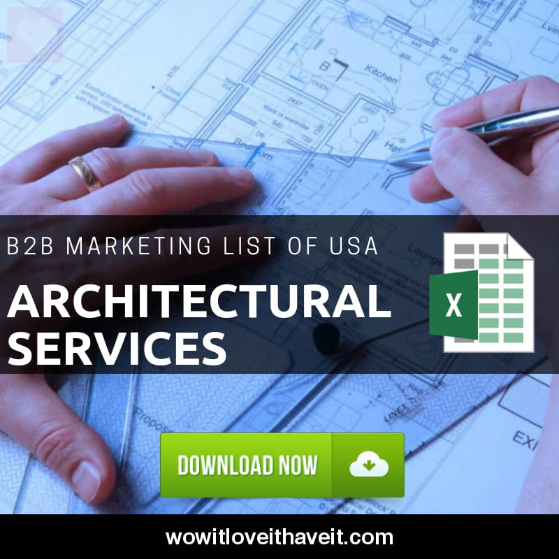 Usa Architectural Services Business E Mails And Mailing List For B2b