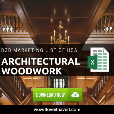 Usa Architectural Woodwork B2B Business E-Mails And Mailing List For B2B Marketing - Wowitloveithaveit