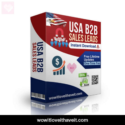 Usa Archive Storage Business E-Mails And Mailing List For B2B Marketing - Wowitloveithaveit