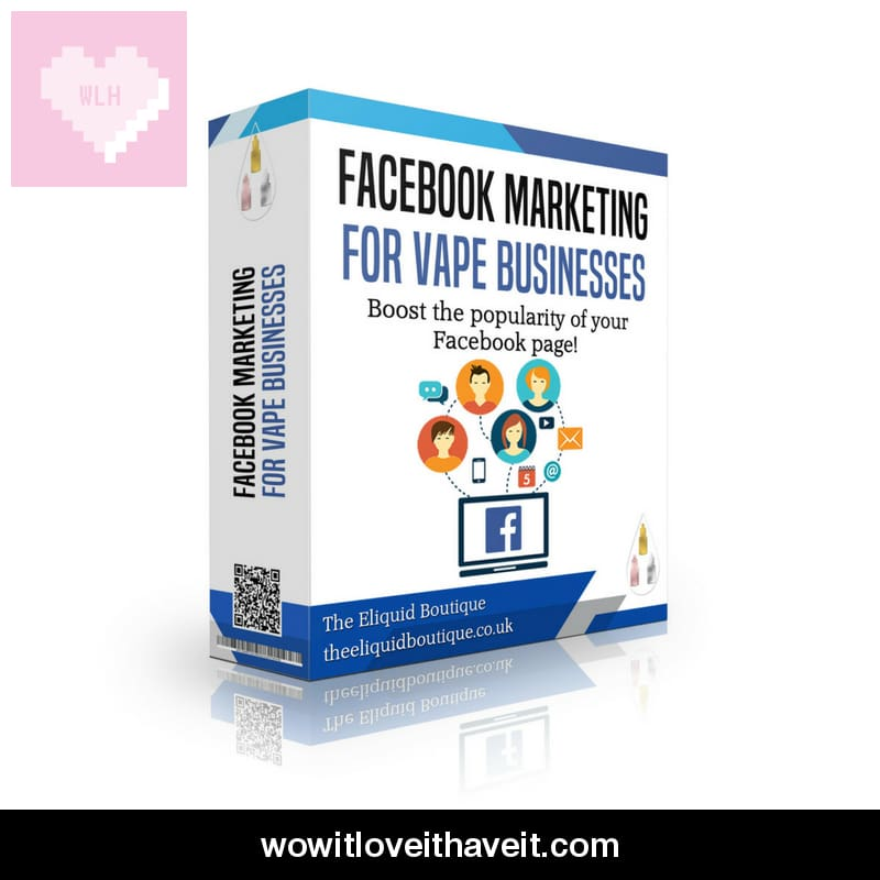 Vape Company Facebook Promotion Package - Wowitloveithaveit