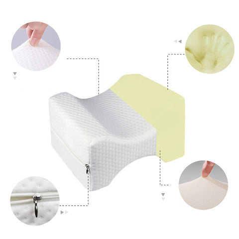 Orthopedic Knee Pillow for Sciatica Relief