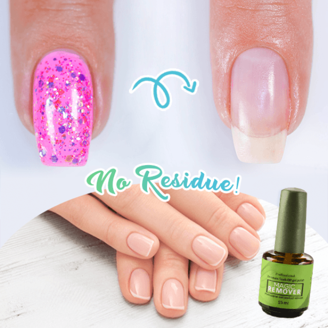 PEELISH™ : Magic Soak-Off Nail Polish Remover