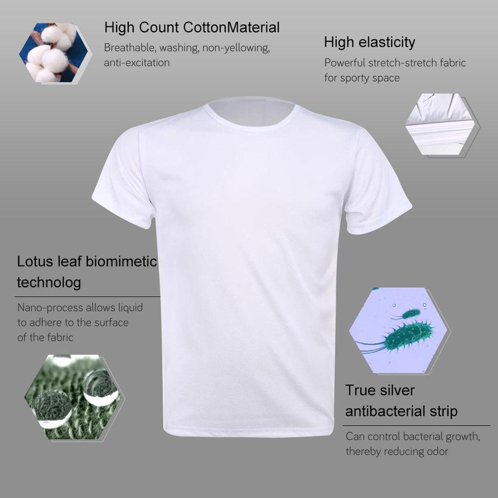 DIRTFOB™: Hydrophobic & Stain-proof T-Shirt