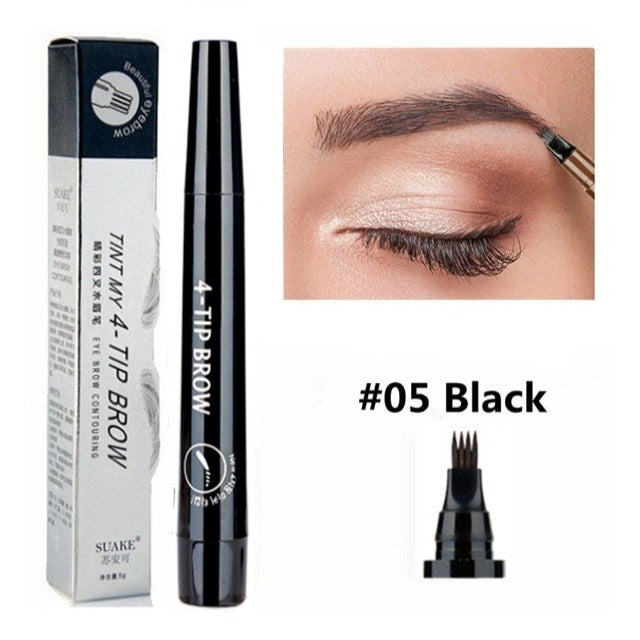 PROBROW™ : Waterproof Smudge-proof Microblading 4 Point Eyebrow Pen