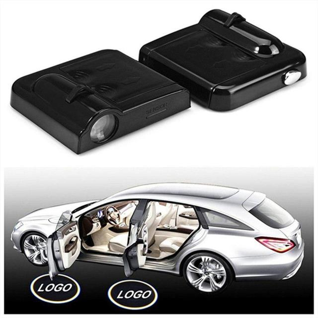 LOGOCAR™ : Wireless Car Logo LED Projector (2PCS)